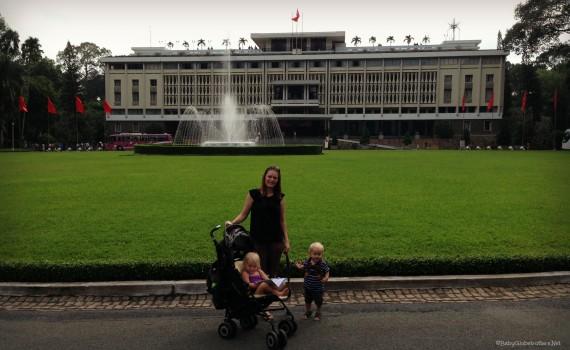 Ho Chi Minh City with kids
