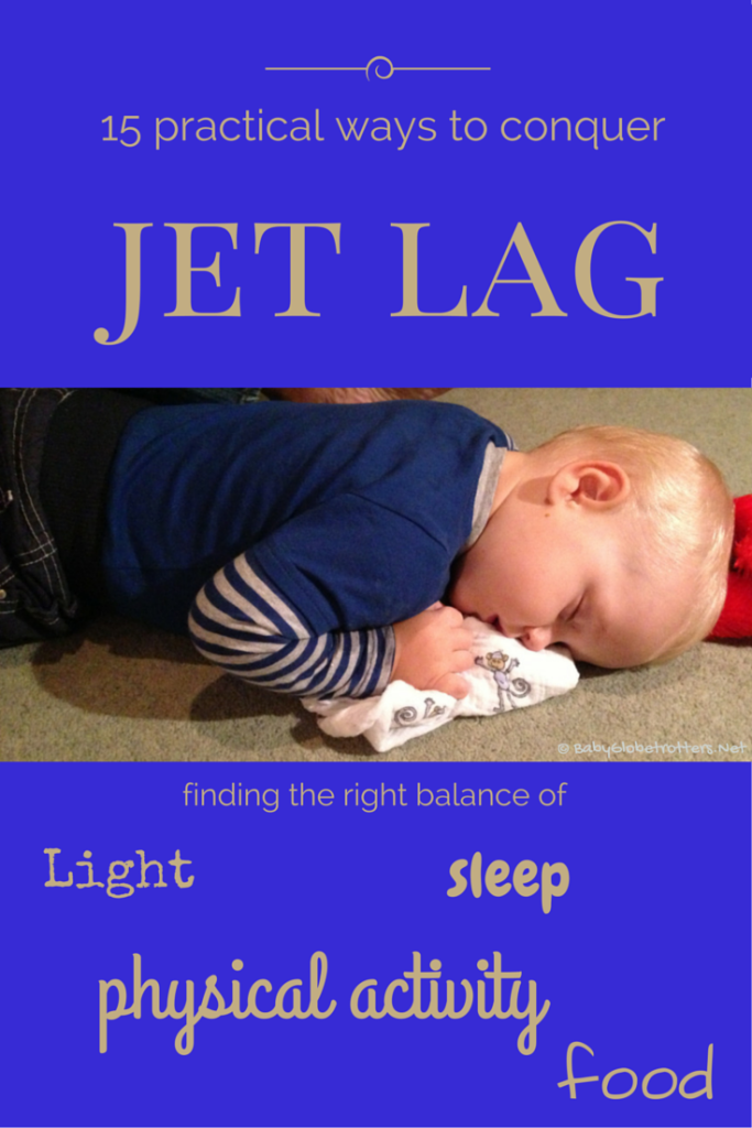 15 practical ways to conquer jet lag | Family Travel Advice | OurGlobetrotters.Net