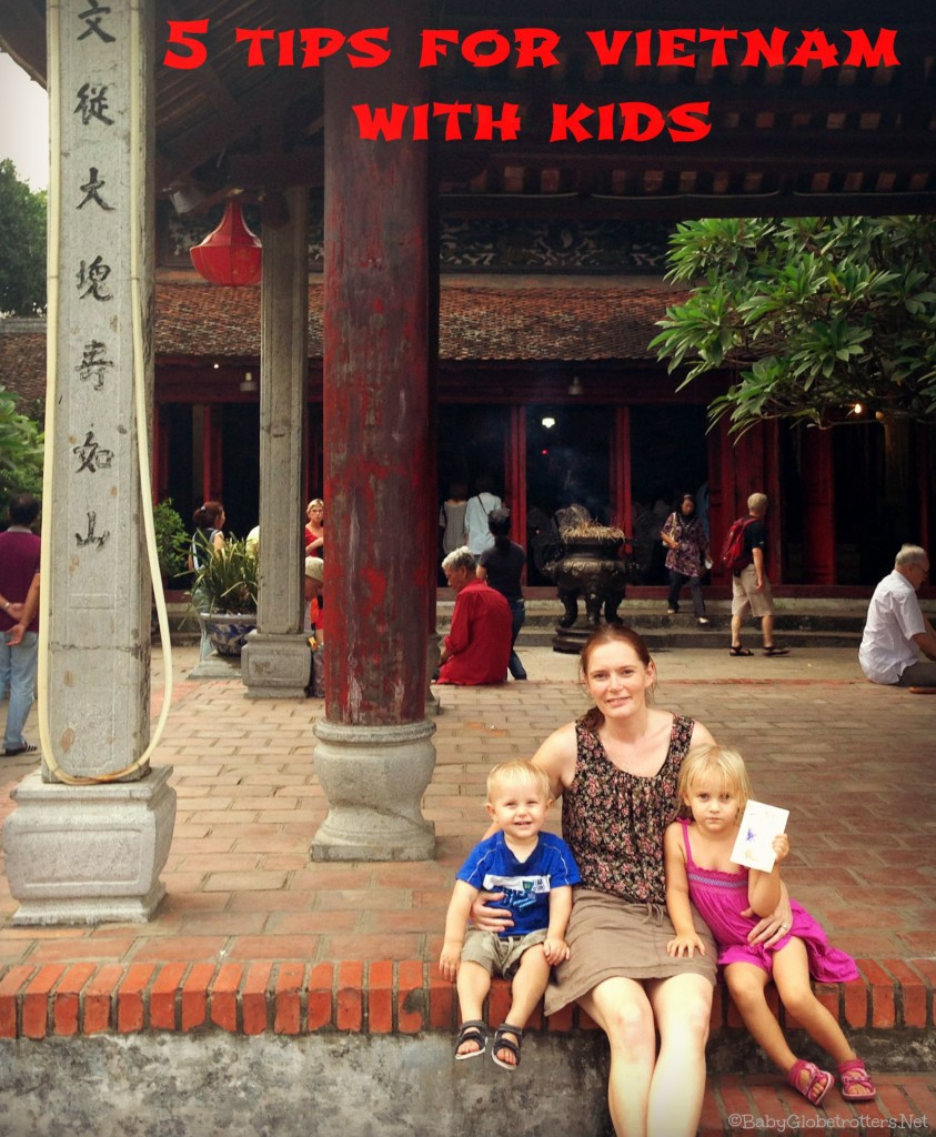 Vietnam is the perfect destination to start adventurous travel with your kids! Our top tips for getting around Ho Chi Minh City and Hanoi with young kids | OurGlobetrotters.Net