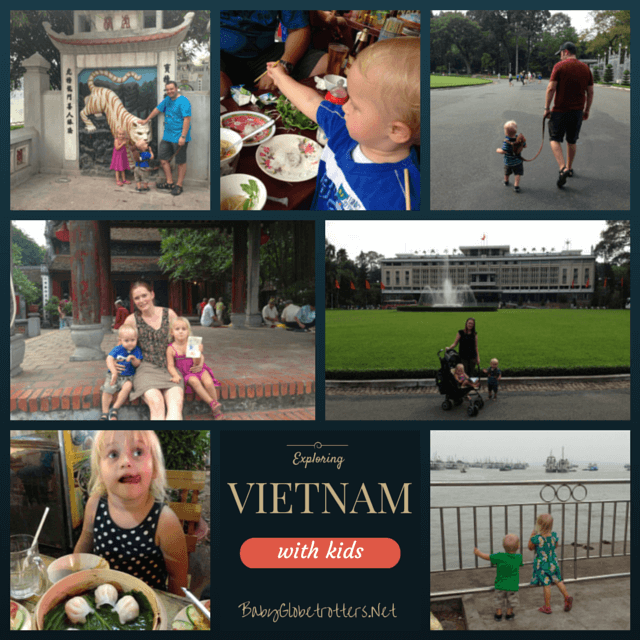 Find out why we think Vietnam is a perfect place to start adventurous family travel where organised chaos thrives as well as our top 5 tips for travelling with kids in Vietnam | Discover Asia | OurGlobetrotters.Net