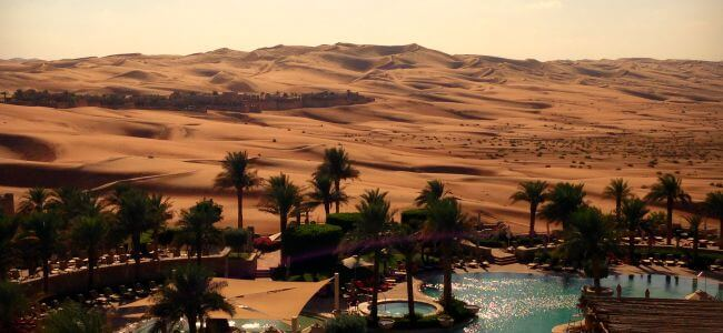 Desert Delight Qasr Al Sarab | Travel Diary | OurGlobetrotters.Net