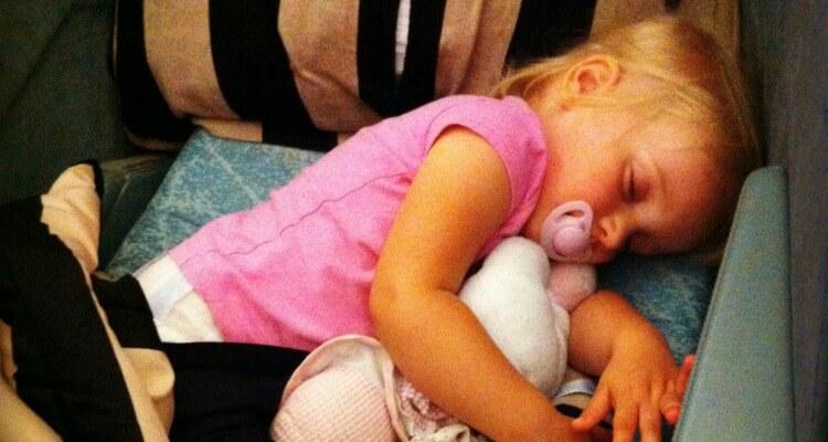 Family Travel Advice   Sleeping on Planes