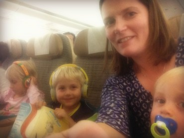 mum flying as only adult with three kids | Travel Advice