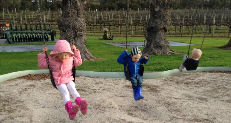 Great Southern Western Australia wine tasting with kids