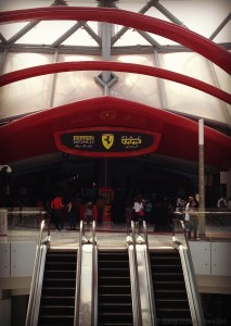 Yas ferrari world
