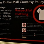 dubai mall respect