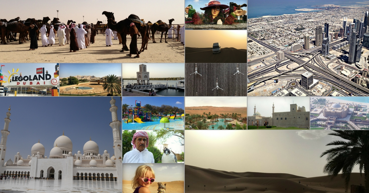 Guide to the best family things to do, places to stay and eat in the UAE - for families!