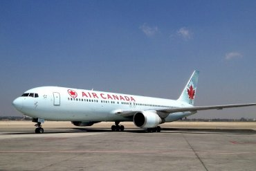 Air Canada Family Flying Airline Review