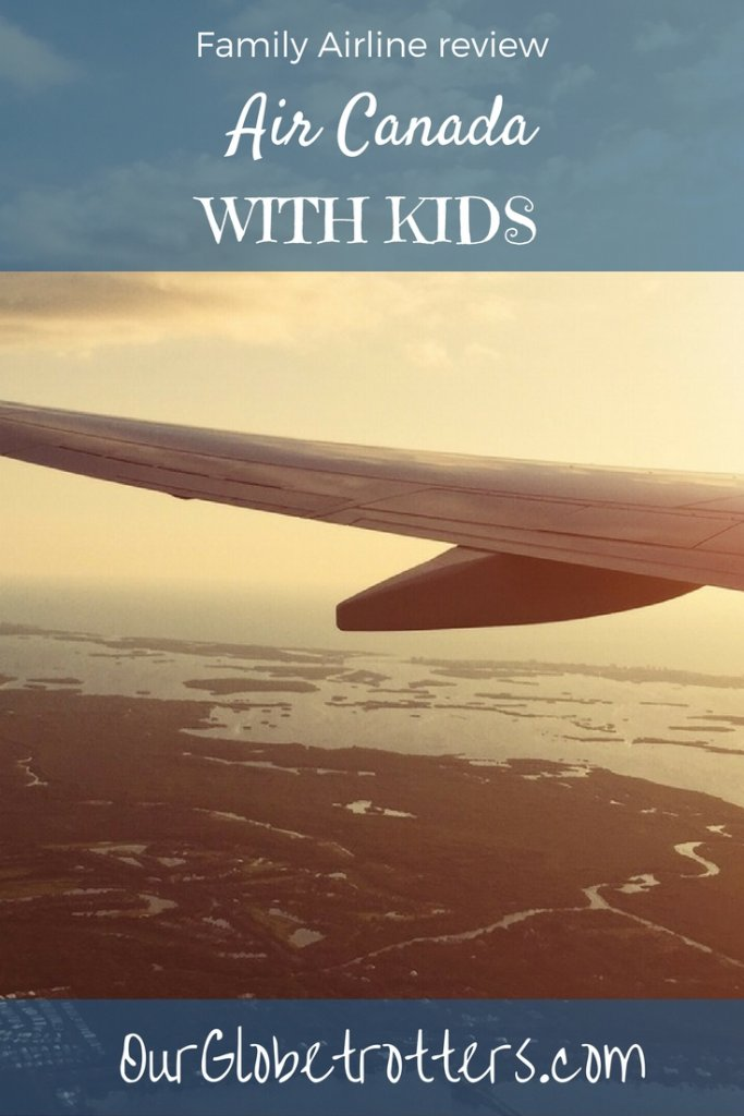 Everything you need to know before flying Air Canada with a family. Guidance on pregnancy, infant policies, luggage allowances, unaccompanied minors & more | Our Globetrotters International Family Airline Reviews