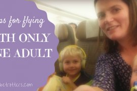 5 tips for flying with only one adult