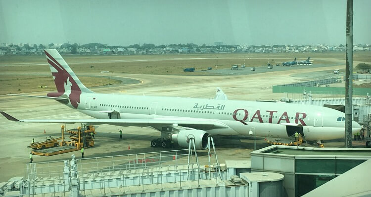 Flying Qatar Airways with Kids