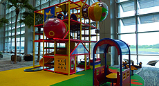 Changi airport playground | Family Airline Reviews | OurGlobetrotters.Net