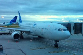 Garuda Indonesia family Flying Airline Review