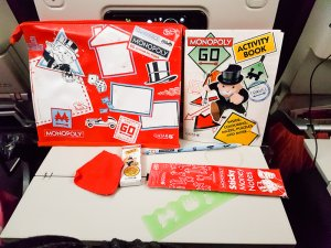Qatar Airways Kids Monopoly pack