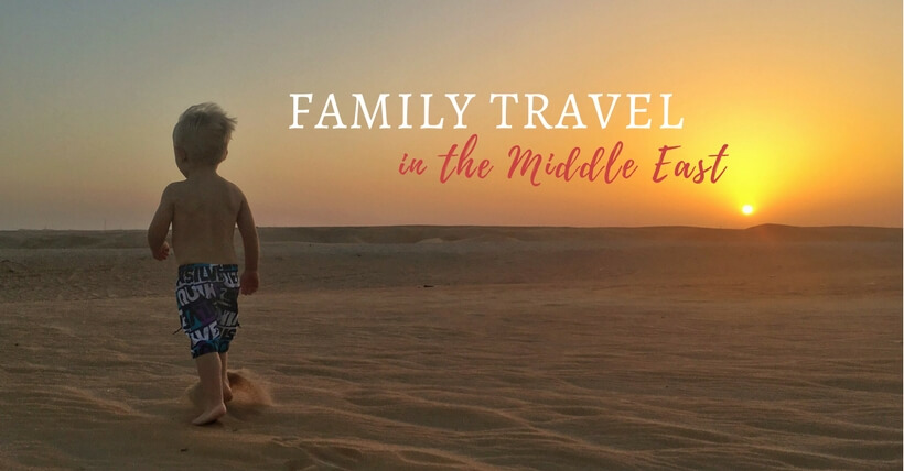Family Travel in the Middle East online community support group