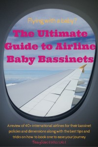The Ultimate Guide to Airline Baby Bassinets | OurGlobetrotters.Net