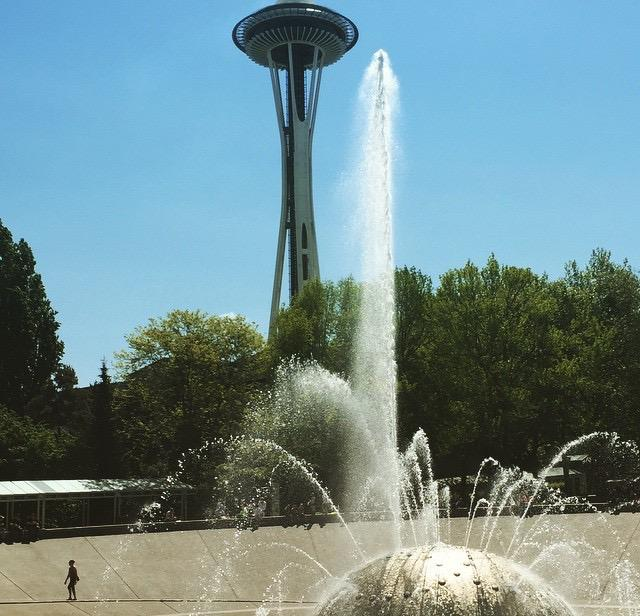 Center Fountain | Seattle with Kids | Explore My City | OurGlobetrotters.Net