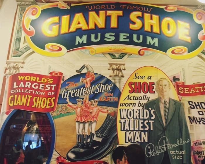 Giant Shoe Museum | Seattle with Kids | Explore My City | OurGlobetrotters.Net