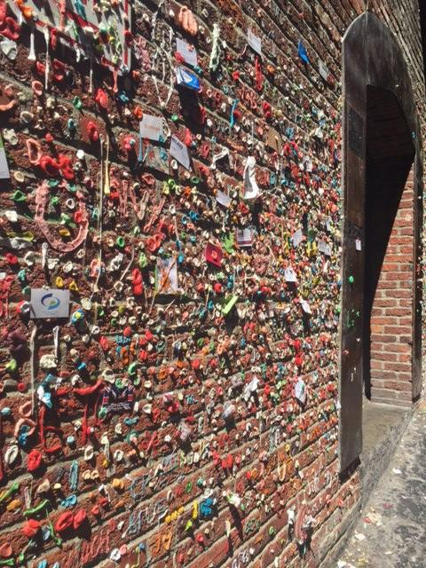 Gum Wall | Seattle with Kids | Explore My City | OurGlobetrotters.Net