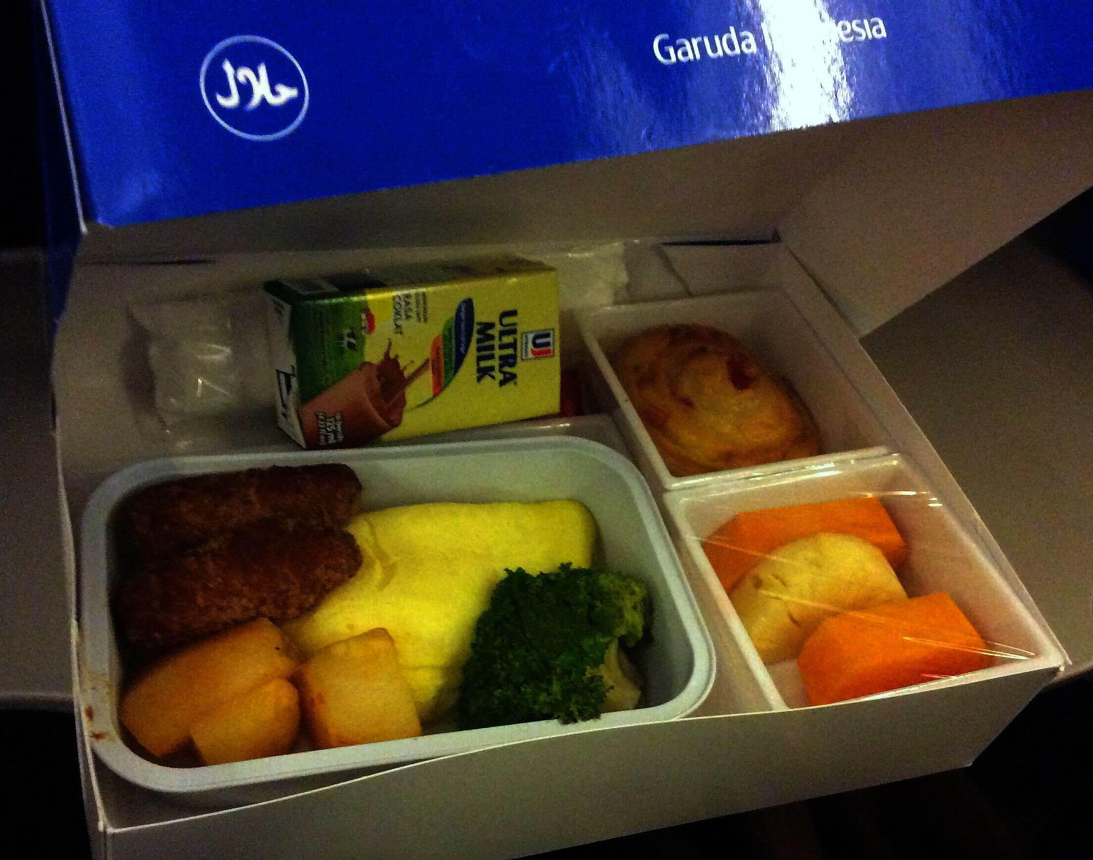 Garuda Breakfast | Family-friendly Airline Review | OurGlobetrotters.Net