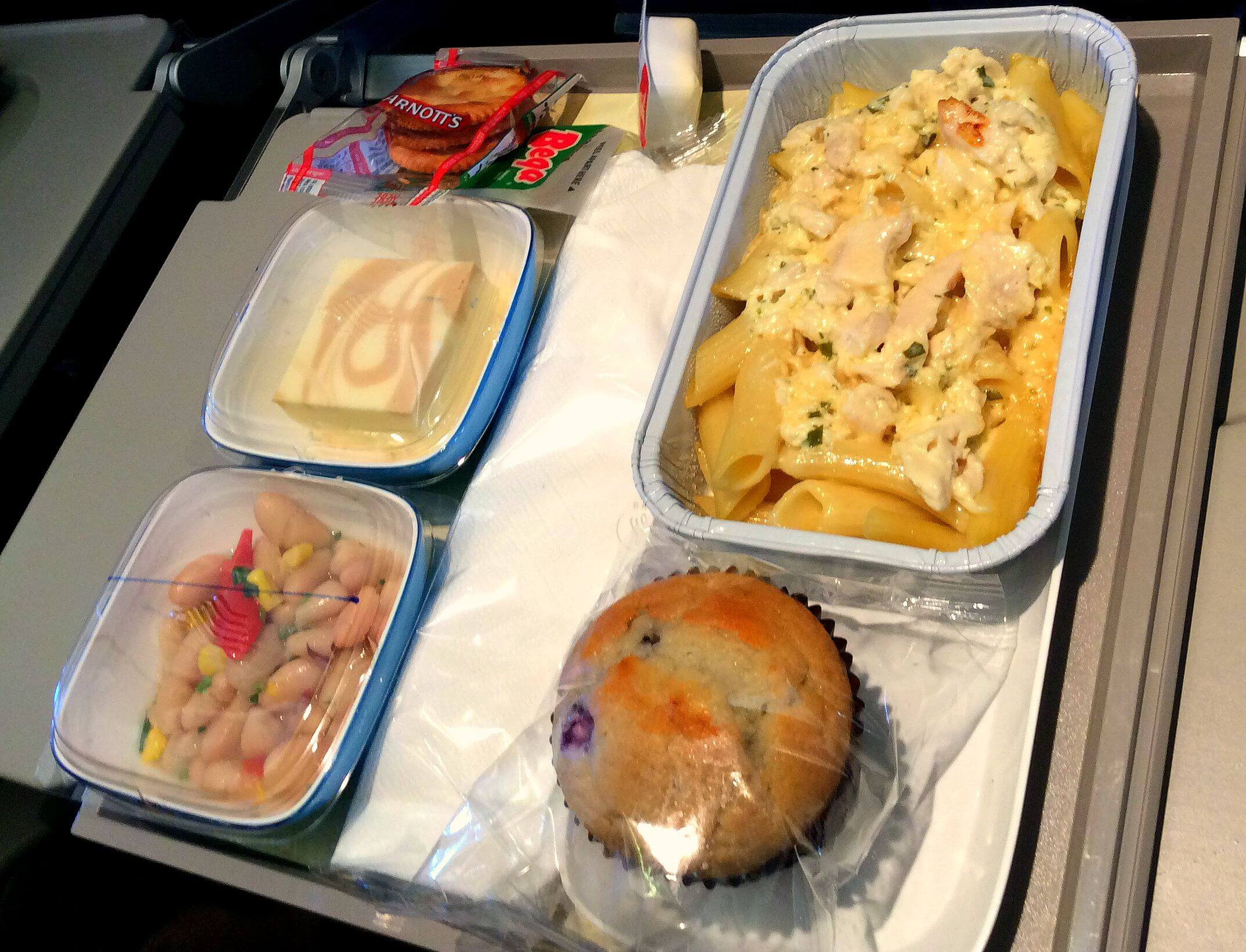 Garuda Lunch | Family-friendly Airline Reviews | OurGlobetrotters.Net