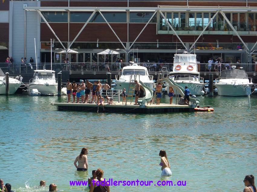 Hillarys marina - pontoon | Perth with Kids | Explore My City | OurGlobetrotters.Net