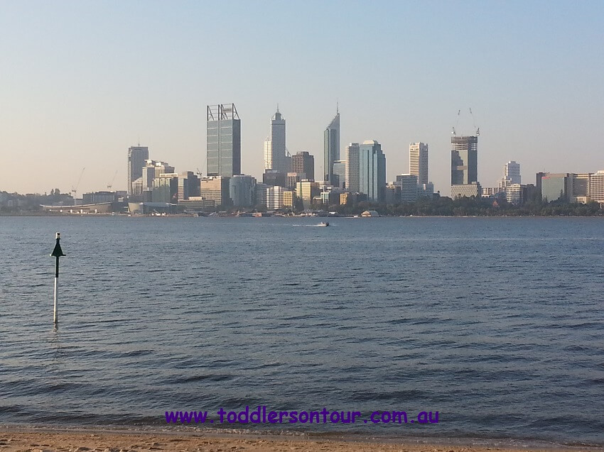 Perth skyline | Perth with Kids | Explore My City | OurGlobetrotters.Com