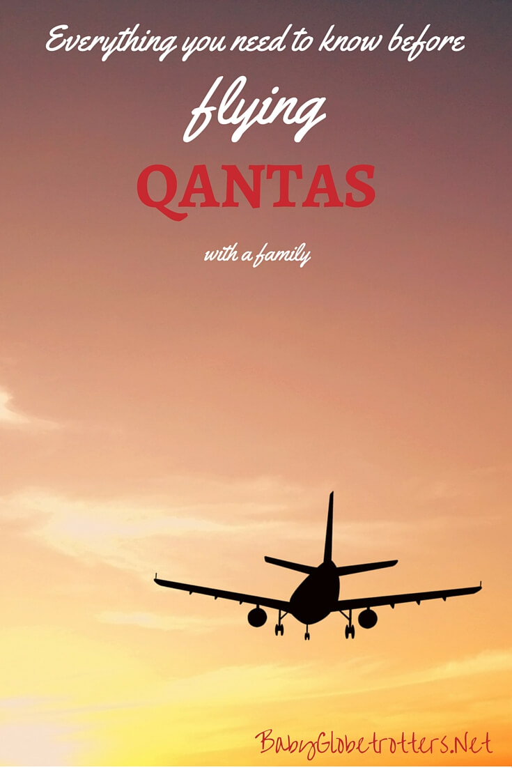 Qantas: Family Flying Airline Review • Our Globetrotters