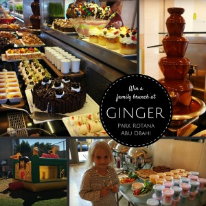 Win a family brunch at Ginger, Park Rotana Abu Dhabi | OurGlobetrotters.Net