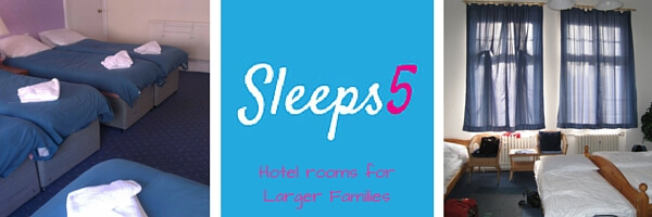 Hotel rooms for Larger Families | Travel Advice | OurGlobetrotters.Com