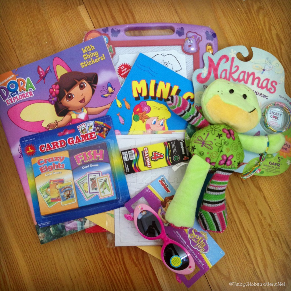 Kidgoz Travel Packs - example girls bag | Our Globetrotters Recommend | OurGlobetrotters.Net