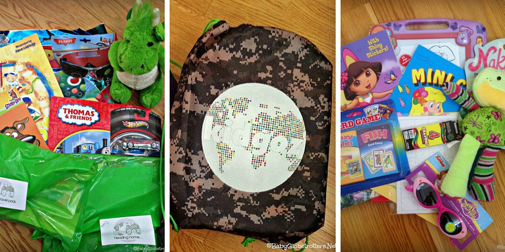 Kidgoz Travel Packs - Enter to Win!! | Our Globetrotters Recommend | OurGlobetrotters.Net
