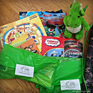 Kidgoz Travel Packs - example boys bag | Our Globetrotters Recommends | OurGlobetrotters.Net