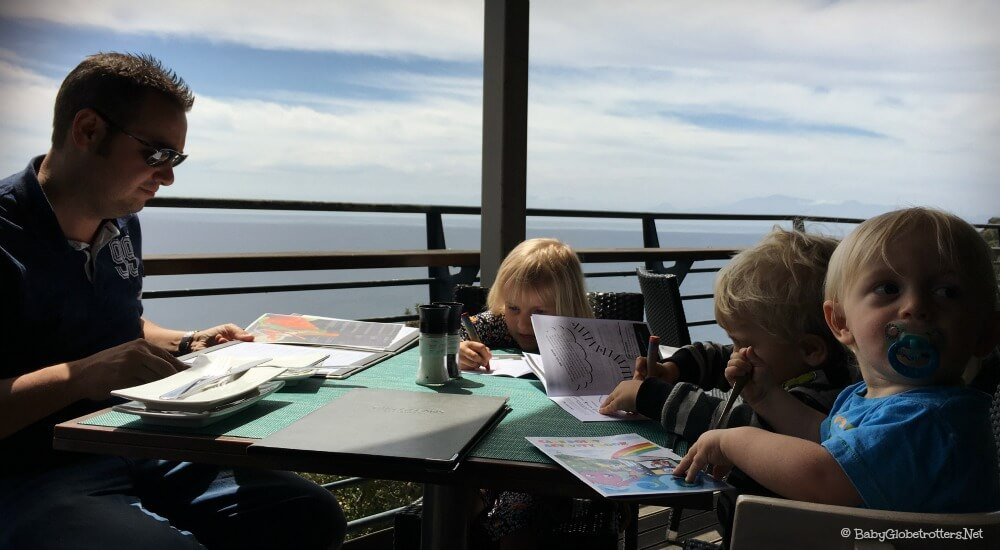 Cape Point Two Oceans Restaurant | Cape Town with Kids | OurGlobetrotters.Net