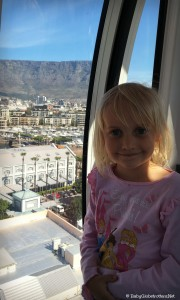 Ferris Wheel at V&A Waterfront | Cape Town with Kids | BabyGlobetroters.Net