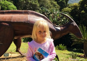 Dinosaur display at Kirstenbosch National Botanical Gardens | Cape Town with Kids | OurGlobetrotters.Net