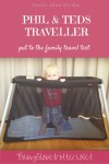A light weight infant sleeping solution for families on the go