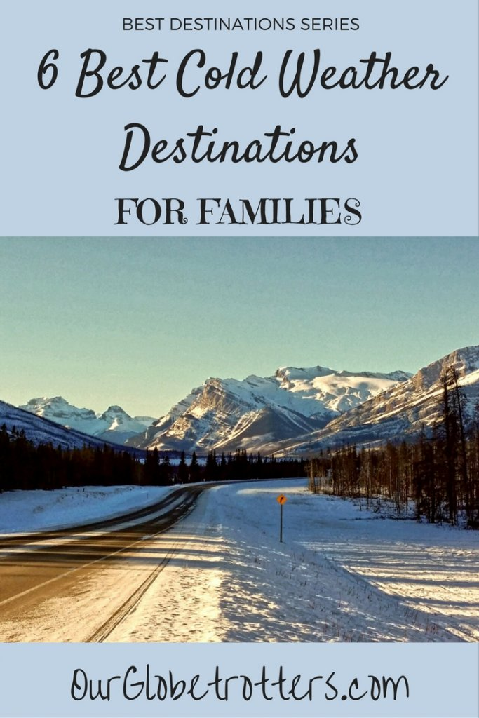 Best winter destinations to enjoy the cold winter weatehr with kids | #winter #banff #canmore #uk #sweden