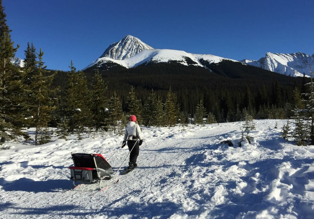Snowshoeing in Canmore, Canada   Best cold weather destiantions for Family Travel   BabyGlobetreotters.Net
