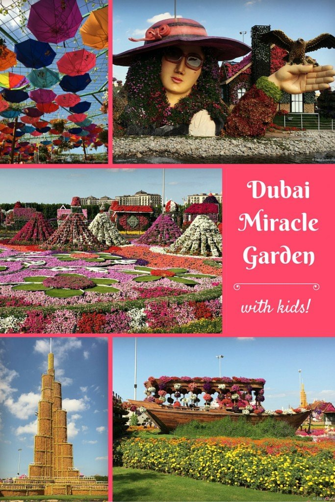 Dubai Miracle Garden - explore the largest flower garden in the world - with kids