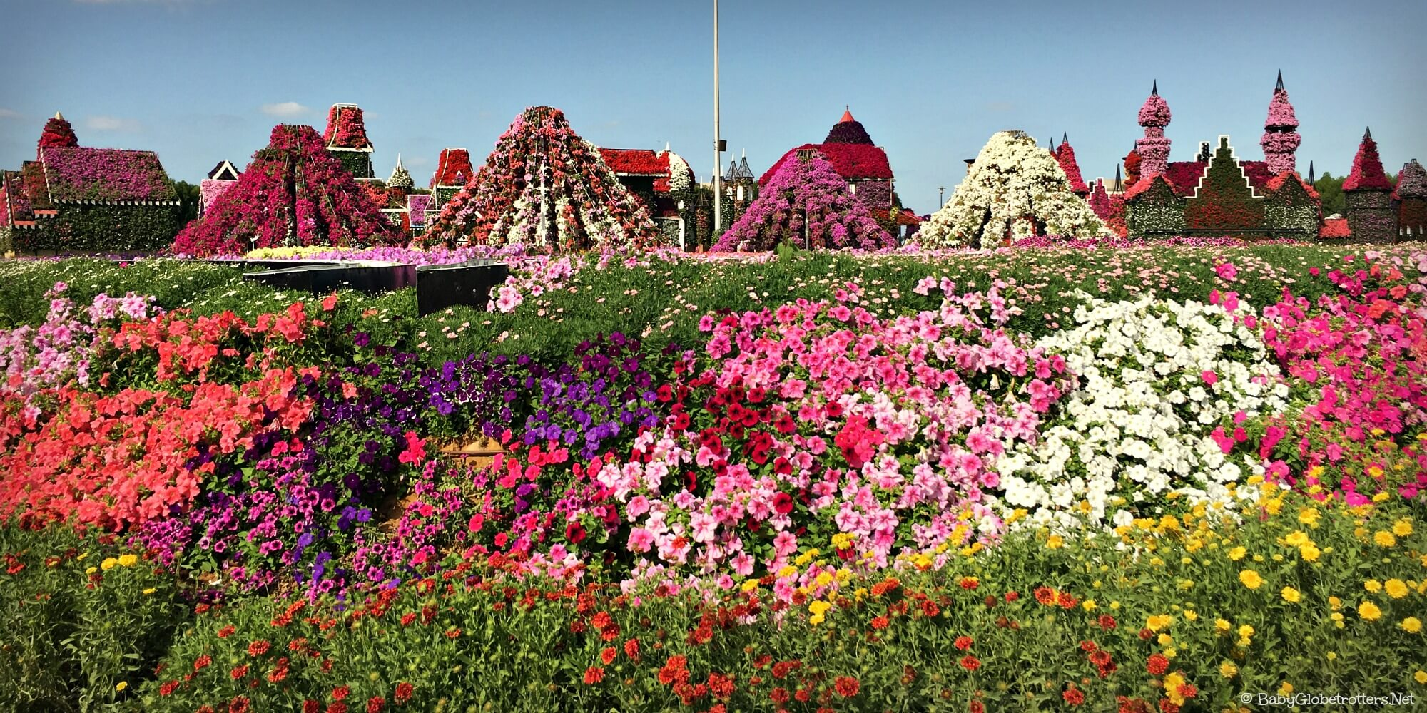 Discover Dubai Miracle Garden... With Kids