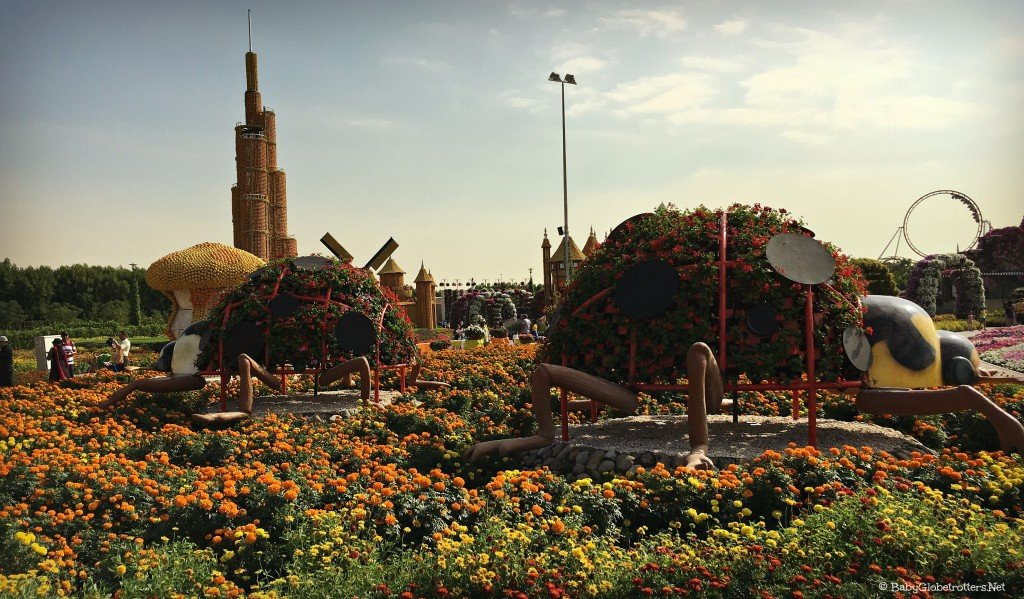 Dubai Miracle Garden | Discover the UAE | OurGlobetrotters.Net