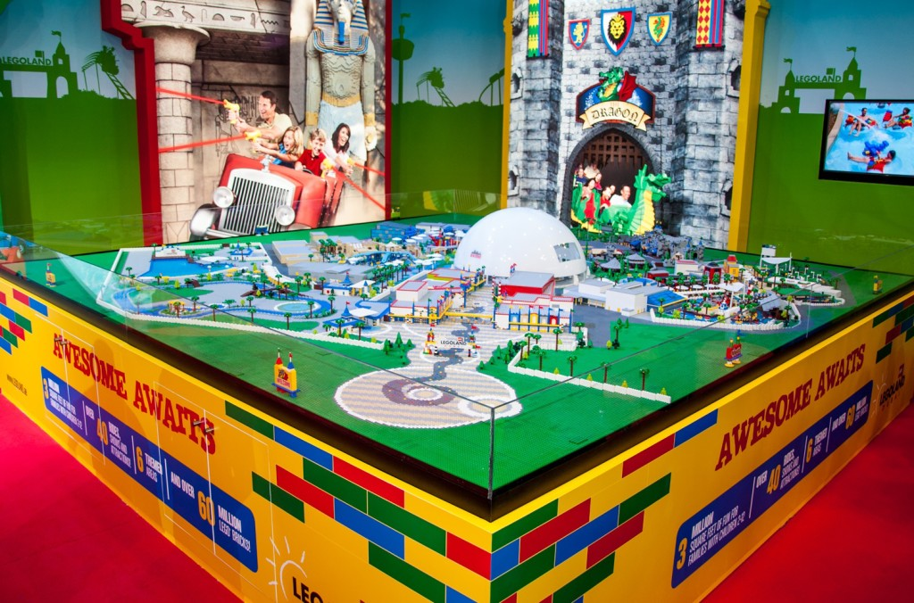Dubai Parks and Resorts and LEGOLAND® Dubai unveil park layout with LEGO® model map in front of thousands at Arabian Travel Market 2015