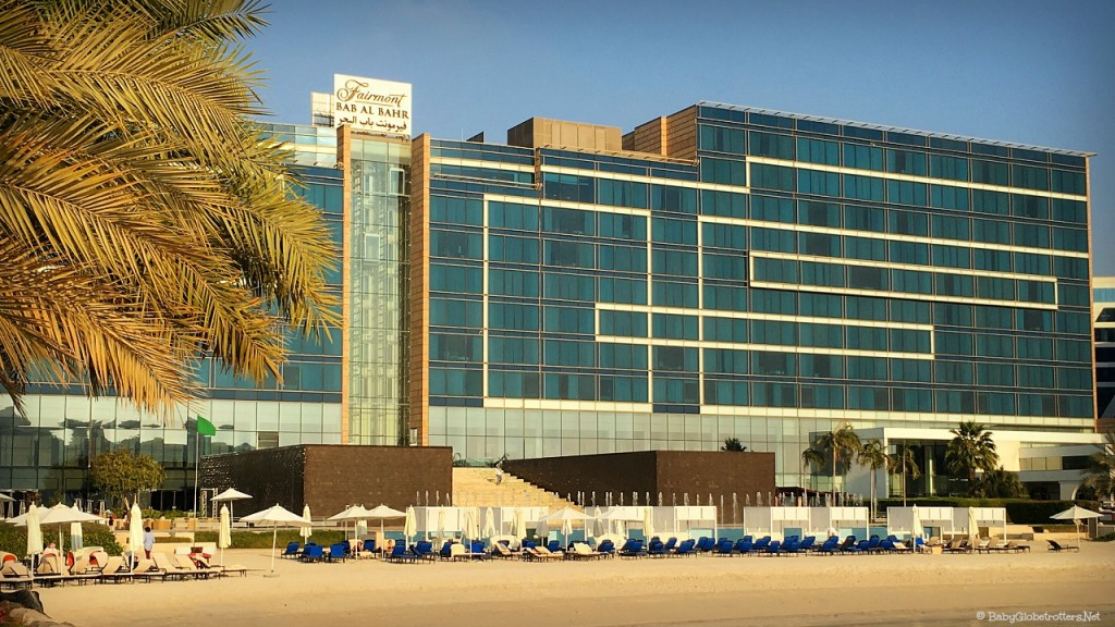 The Fairmont Bab al Bahr, Abu Dhabi | Discover the UAE Hotel Review | OurGlobetrotters.Net