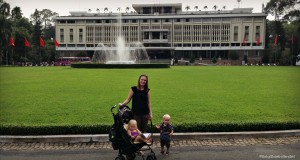 Travelling with toddlers in vietnam
