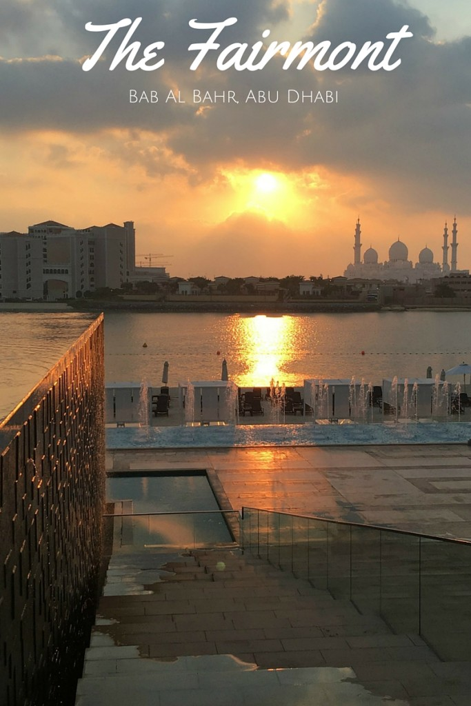 A touch of luxury with beautiful views ~ The Fairmont Bab al Bahr, Abu Dhabi | Discover the UAE Hotel Review | OurGlobetrotters.Net