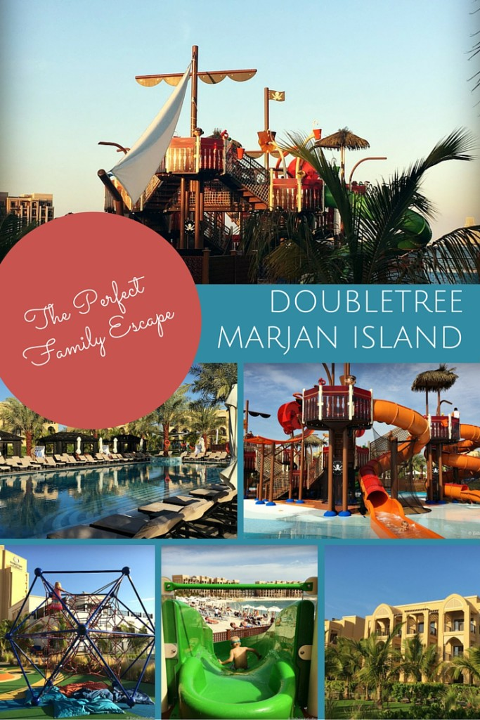 Well thought out family-friendly facilities make Doubletree Marjan Island, Ras al Khaimah the perfect resort retreat for families in the UAE | OurGlobetrotters.Net