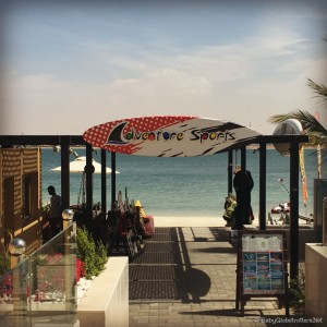 Adventure Sports are available at Doubletree Marjan Island