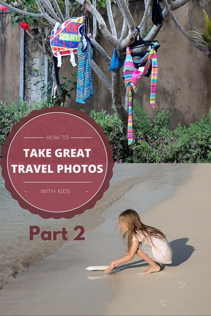 How to take great travel photos with kids | A Vlub Lilypad & Our Globetrotters blog post to improve your travel photography