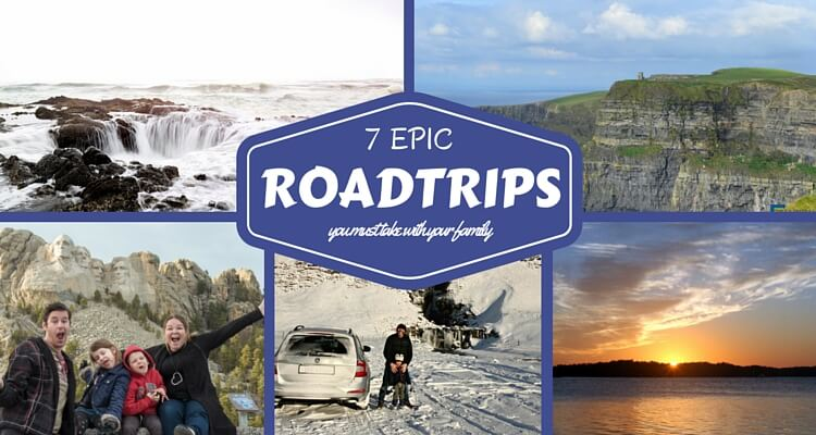 7 Epic Road Trips to take with your family | Best Destinations | OurGlobetrotters.Com